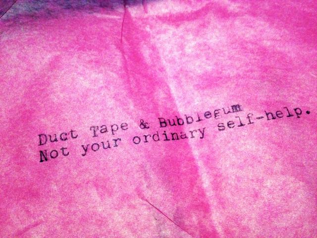 tissue bubble gum